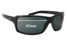 Arnette Chop Shop AN4172 Replacement Sunglass Lenses - 67mm Wide