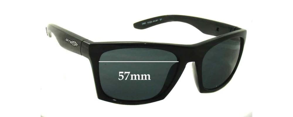 Arnette Dibs AN4169 Replacement Sunglass Lenses - 57mm Wide