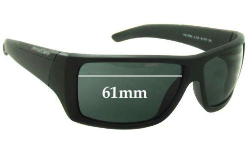 Arnette Hazard AN4167 Replacement Sunglass Lenses - 61mm Wide