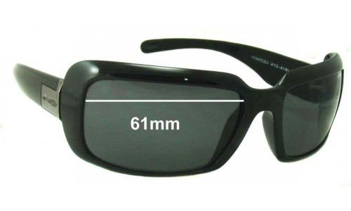 Arnette Infamous II AN4112 Replacement Sunglass Lenses - 61 mm wide