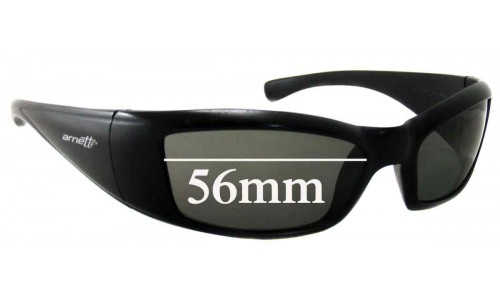 Arnette RAJ1586AA Replacement Sunglass Lenses 56mm wide