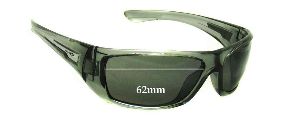 Arnette Stickup AN4147 Replacement Sunglass Lenses - 62mm Wide