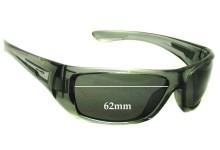 Sunglass Fix New Replacement Lenses for Arnette Stickup AN4147 - 62mm Wide