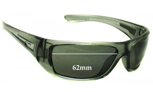 Arnette Stickup AN4147 Replacement Sunglass Lenses - 62mm Wide