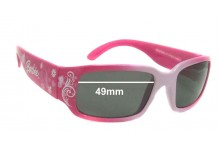 Matel Barbie 2008 Replacement Sunglass Lenses - 49mm Wide