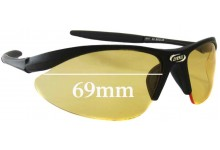 BBB Element 4212 Replacement Sunglass Lenses - 69mm wide