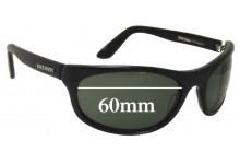 Bill Bass Replacement Sunglass Lenses 2383 - 60mm Wide