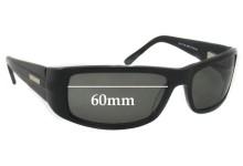 Bill Bass 29732 Replacement Sunglass Lenses - 60mm Wide