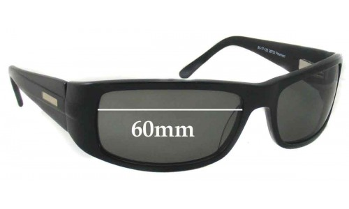 Bill Bass 29732 Replacement Sunglass Lenses - 60mm Wide