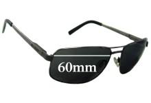 Bill Bass Farnham Replacement Sunglass Lenses - 60mm Wide