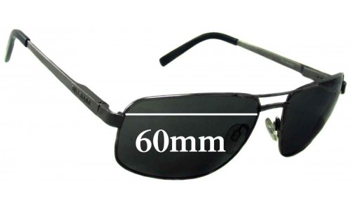 Bill Bass Farnham Replacement Sunglass Lenses - 60mm Wide