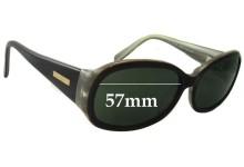 Bill Bass Kirra Replacement Sunglass Lenses - 57mm wide