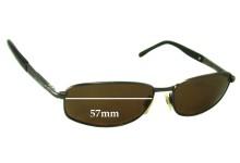 Bill Bass Voltage Replacement Sunglass Lenses - 57mm wide
