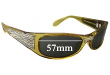 Black Flys Sci Fly Replacement Sunglass Lenses - 57mm wide
