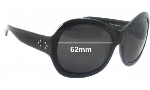 Blinde Rollercoaster Replacement Sunglass Lenses - 62mm wide