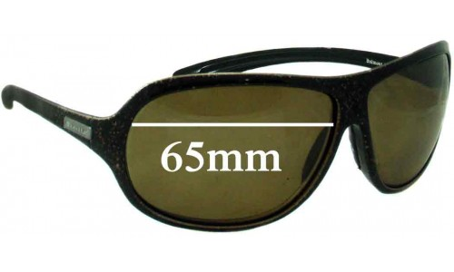 Bolle Belmont 10916 Replacement Sunglass Lenses - 65mm Wide