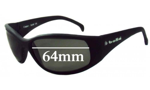 Bolle Copper-Head Replacement Sunglass Lenses - 64mm Wide