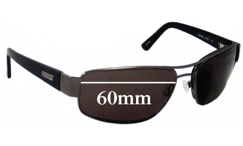 Bolle Graham 11475 Replacement Sunglass Lenses - 60mm Wide