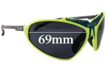 Briko Stinger Replacement Sunglass Lenses - 69mm Wide