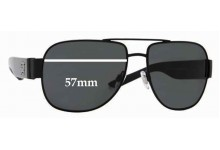 Burberry B 3035 Replacement Sunglass Lenses - 57mm Wide