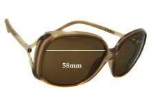 Sunglass Fix Replacement Lenses for Burberry B 4068 - 58mm Wide