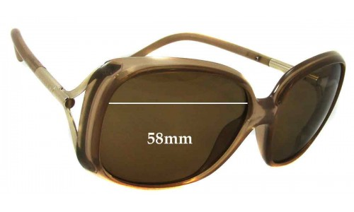 Burberry B 4068 Replacement Sunglass Lenses - 59mm Wide