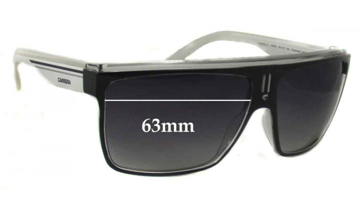 SFX Replacement Sunglass Lenses fits Carrera 22 63mm Wide