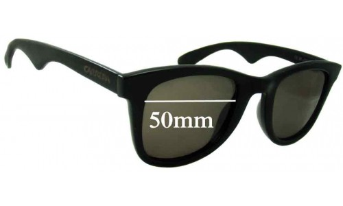 Carrera 5447 New Sunglass Lenses 50mm wide