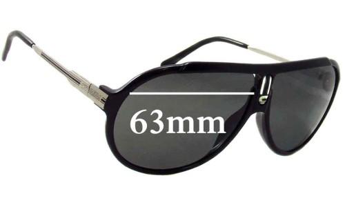 Sunglass Fix Replacement Lenses for Carrera Champion Endurance Sunglass Lenses 63mm wide