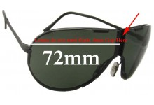 Porsche Design By Carrera 5629 Replacement Sunglass Lenses - 72mm Wide