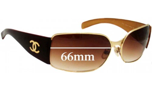 Chanel 4115 Replacement Sunglass Lenses - 66mm wide