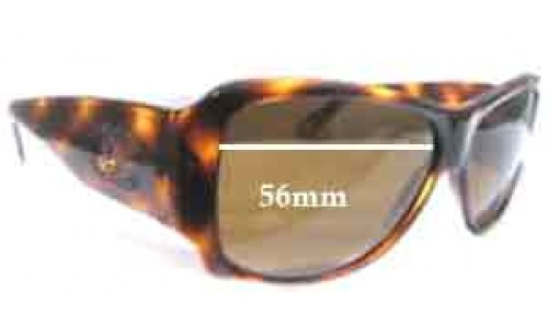 Chanel 5096B Replacement Sunglass Lenses 56mm wide