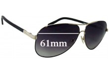 Chloe CE120S Replacement Sunglass Lenses - 61mm wide