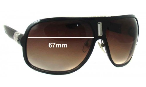 Diesel DS0125 Replacement Sunglass Lenses - 67mm wide