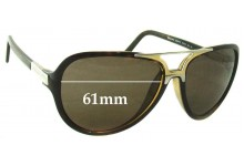 Sunglass Fix Replacement Lenses for Dolce & Gabbana DG6044 - 61mm Wide