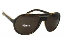 Dolce & Gabbana DG8073 Replacement Sunglass Lenses- 59mm Wide