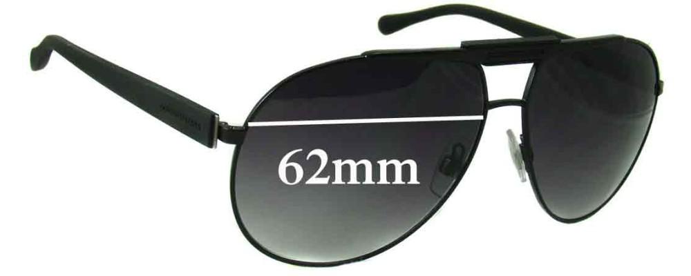 Dolce & Gabbana DG2119 Replacement Sunglass Lenses - 62mm wide