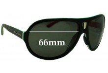 Sunglass Fix New Replacement Lenses for Dolce & Gabbana DG4057 - 66mm Wide