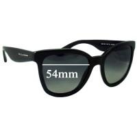 0620cc74bb4d Sunglass Fix New Replacement Lenses for Dolce & Gabbana DG4190 - 54mm wide
