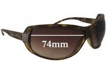 Sunglass Fix New Replacement Lenses for Dolce & Gabbana DG6019 - 74mm Wide