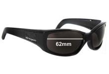 Dragon Casino New Sunglass Lenses - 62mm wide