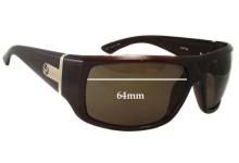 Dragon Vantage Replacement Sunglass Lenses - 64mm wide