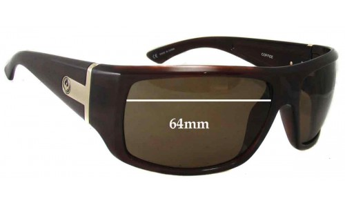 Dragon Vantage Replacement Sunglass Lenses - 64mm wide