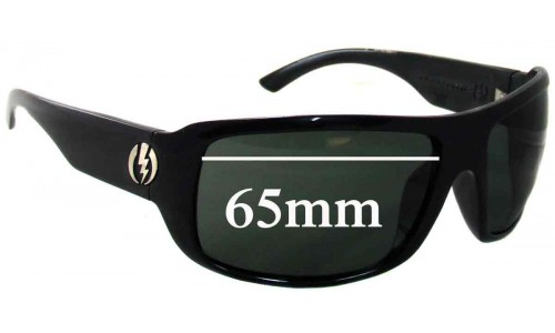 Electric KW Replacement Sunglass Lenses - 65MM wide