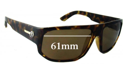 Electric BPM Replacement Sunglass Lenses - 61mm Wide
