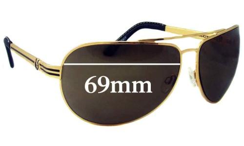 Electric Bullitt Replacement Sunglass Lenses - 69mm Wide