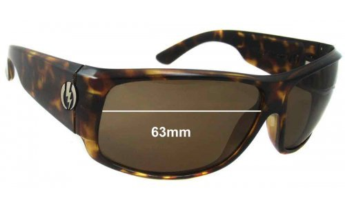 Electric Module Replacement Sunglass Lenses - 67mm Wide