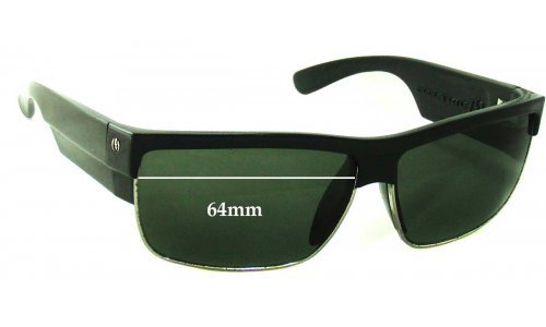 Electric MUTINY Replacement Sunglass Lenses - 64mm Wide