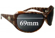 Sunglass Fix New Replacement Lenses for Electric Spectre - 69mm wide