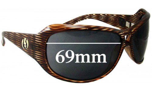 Electric Spectre Replacement Sunglass Lenses - 69MM WIDE